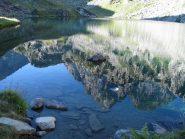 Il Monviso riflesso nel Lago Fiorenza