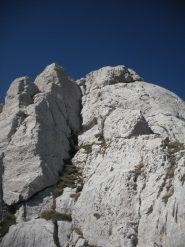 l'attacco della parte alpinistica