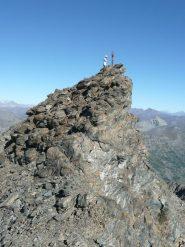 la vetta delle rocce fourion vista da sud