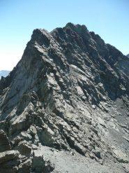 la cresta N della venezia vista dal colle del coulour bianco