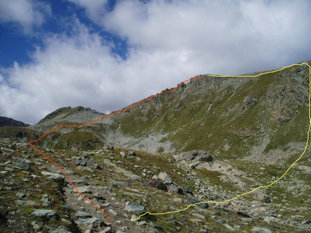 Belplà o Bel Plat (Monte)da Mont Blanc 2010-08-28