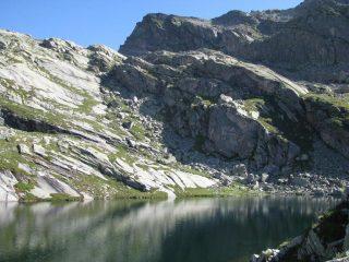 Punta Lazin dal Lago Losere