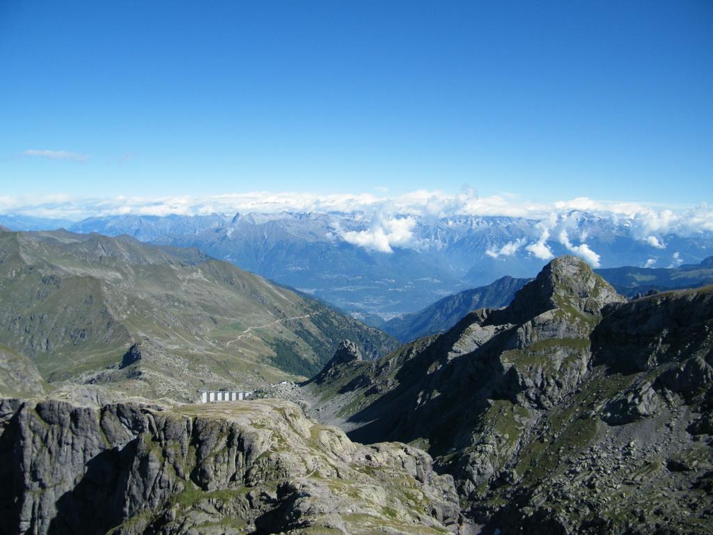 Panorama verso Nord