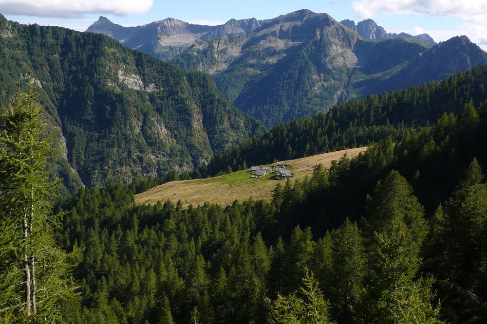 Fria (Passo della) da Crego, traversata ad Altoggio 2010-08-29