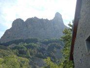 Aguillette du Lauzet visto da Pont de l'Alpe