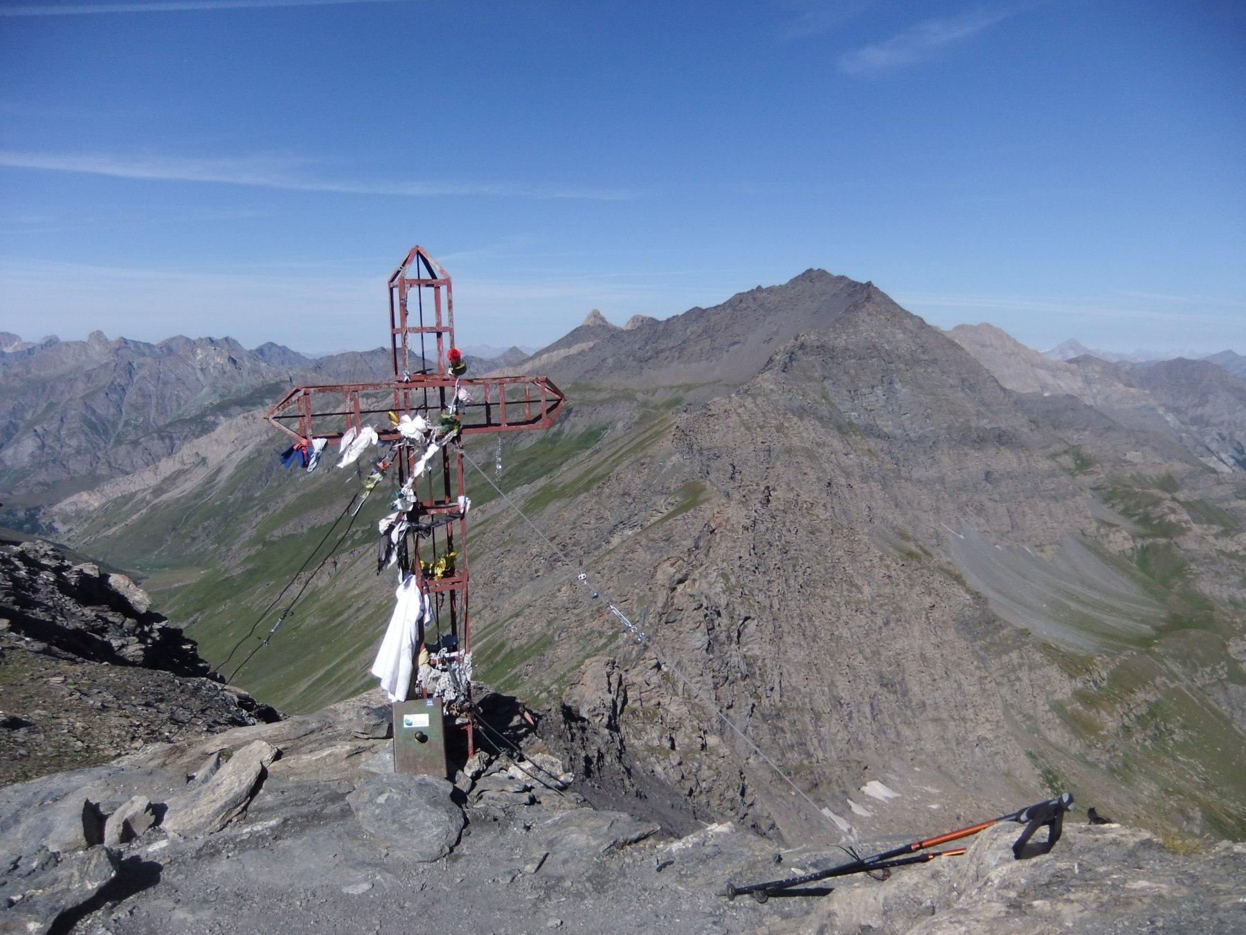 Sulla cima del Monte Losetta