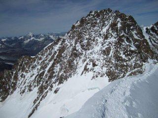 cresta Rey vista dalla Zumstein
