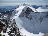 discesa dalla cima della Dufour