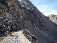 al Passo di Rocca Brancia