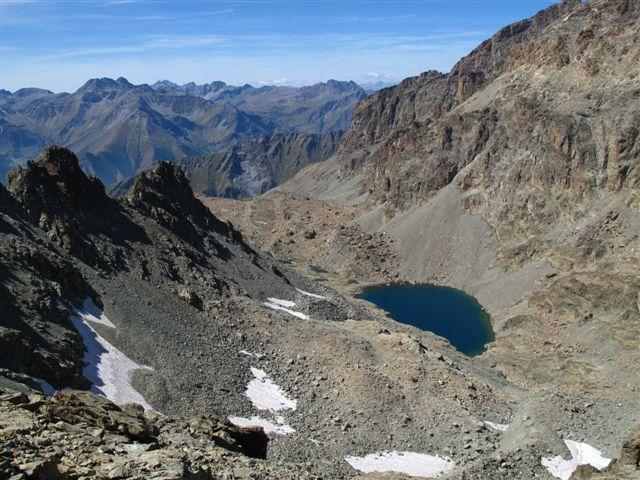 I laghi delle Forciolline e parte del vallone salito
