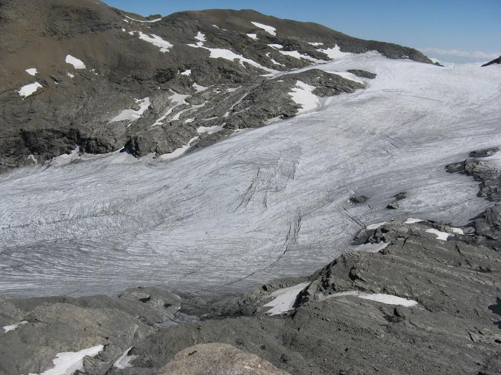 Il ghiacciaio del Rocciamelone