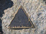 Triangolino di vetta del Cai Rivarolo Canavese