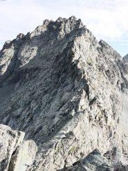 la cresta vista dalla punta delle traversette
