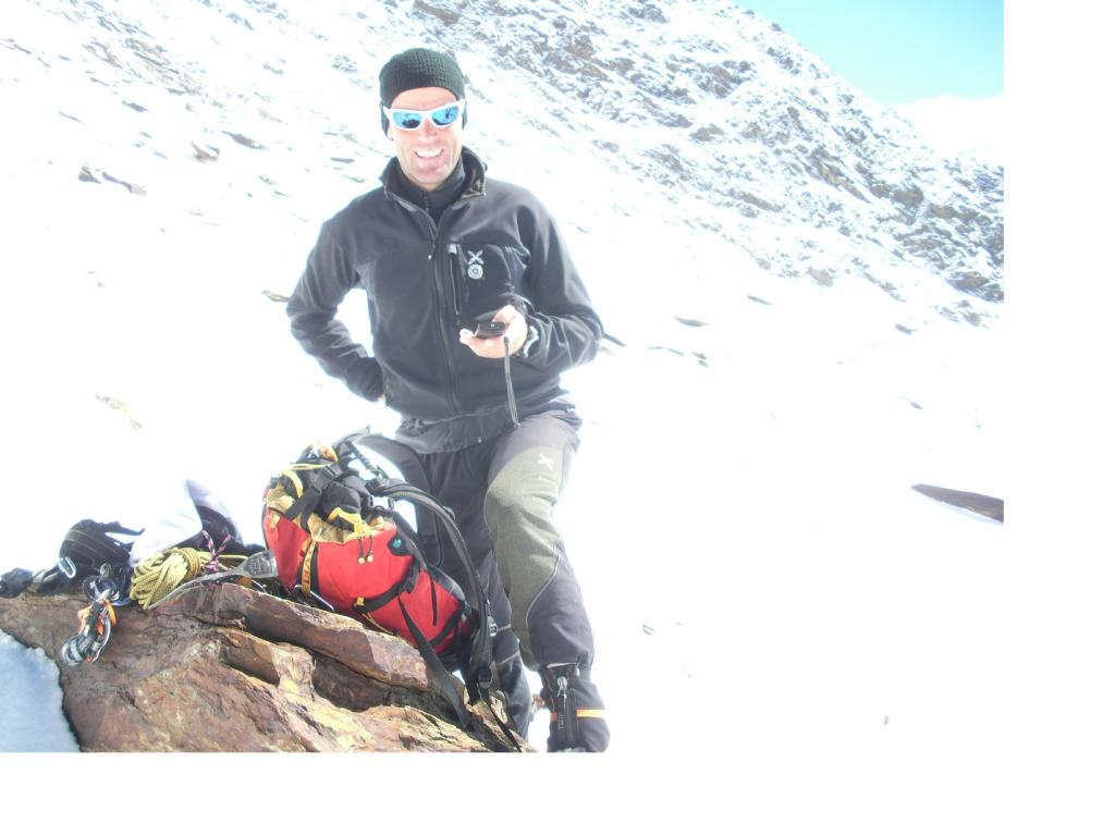 L'incontro formale con la guida alpina Marco Confortola.