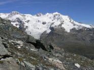 Monte Rosa salendo