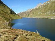 il lago all'Oberalppass