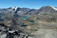 Vista verso il lago Serru'.