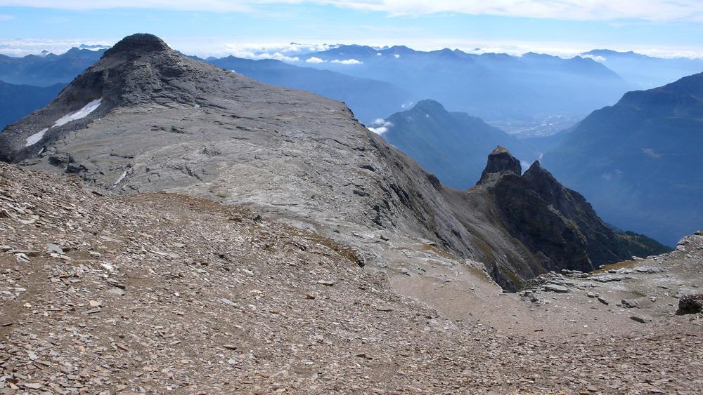 Dal Pizzo Diei il Monte Cistella