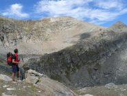 L'ultimo tratto del percorso e la cima