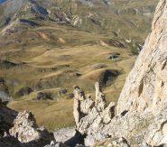 Scorci di panorama i dalla cresta