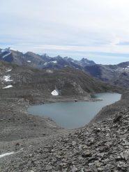 il lago glaciale piu' grande
