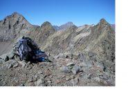 Da dx a sx Cima Ortetti,P.Barale,Mont Servin con dietro la Bessanese...dalla Cima Costapiana