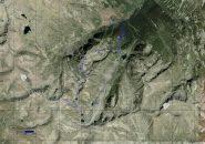 Traccia GPS su Google Earth