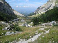 Scendendo la Val Maone