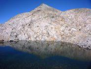 la ghigliè si specchia nel suo lago