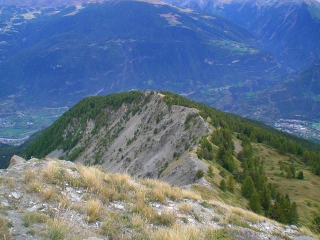 la cresta SSE  di Becca France