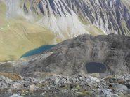 il lago Liconi dalla vetta