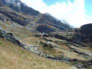 Dall'Alpe del Seone verso la comba dell'Alpe Vailet