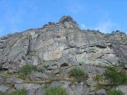Pareti sopra il piano dell'Alpe Vassola
