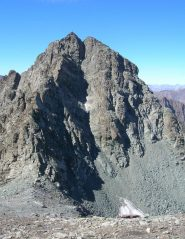 vista sul Monte Granero (cresta e canale est).