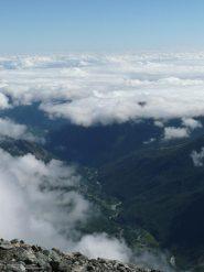Val d'Ala e mare di nubi