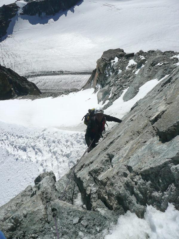 renato sul salto roccioso finale