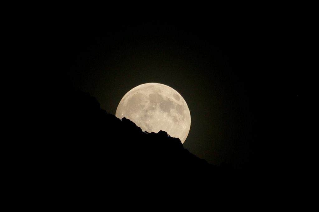 Luna sorgente