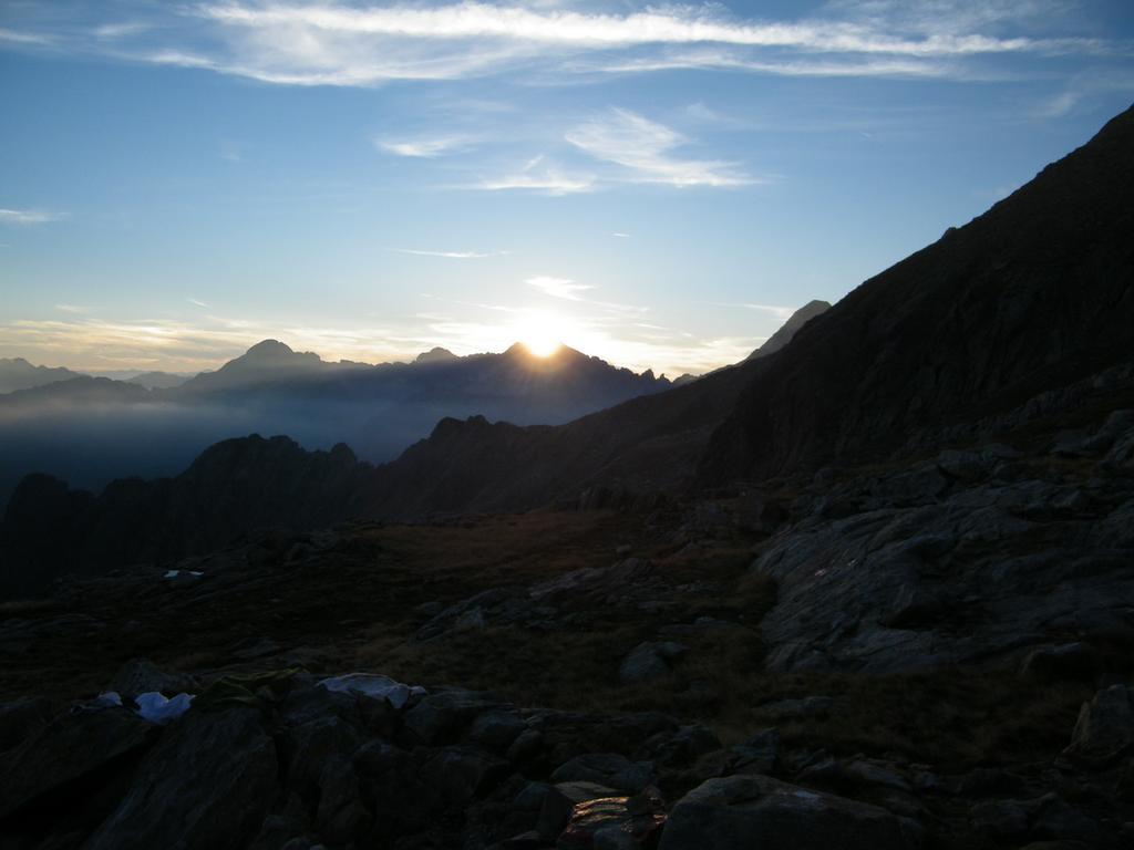 Tramonto sui monti 1