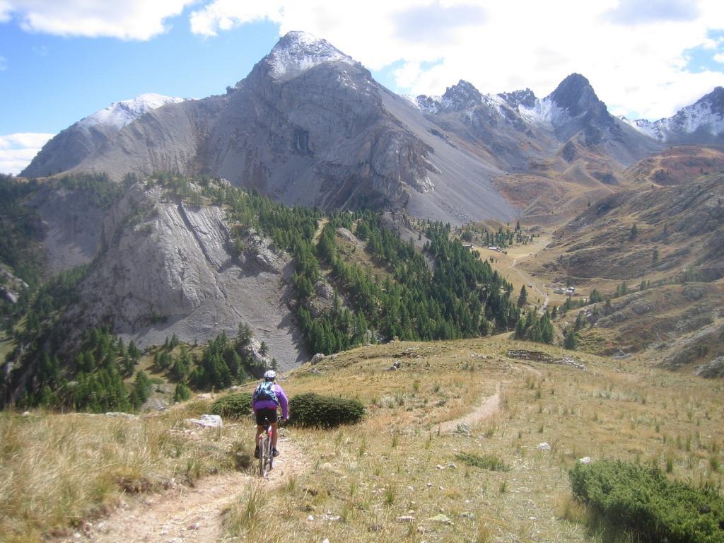 Ayes (Col des) da Villard Saint Pancrace, giro per il Col d'Izoard 2010-09-26