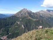 la Grignetta vista dalla cima