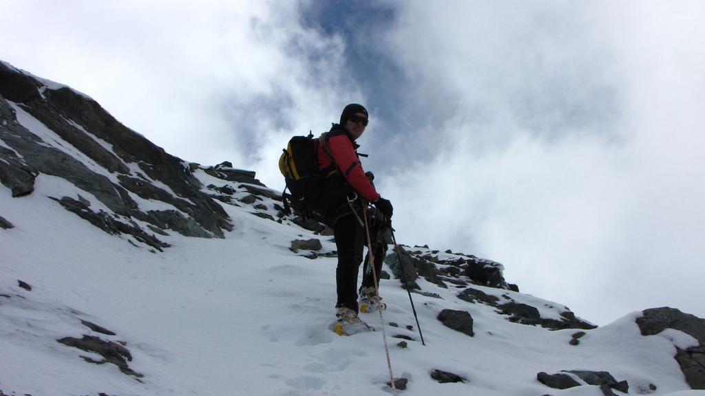 Stelvio a pochi metri dalla cima (26-9-2010)