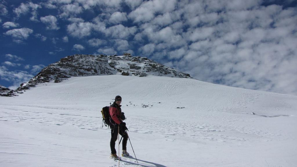 Stelvio nella parte alta del ghiacciaio di Percia (26-9-2010)