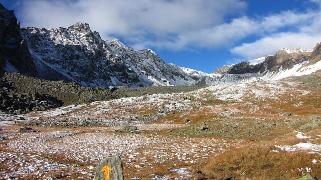 la parte intermedia del Vallone di Meyes (26-9-2010)