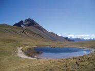 lago chavillon e guglia rossa