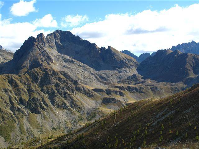 Paranova (Cime de) anello di cresta da Madone de Fenestre per Mont Lapasse 2010-09-26