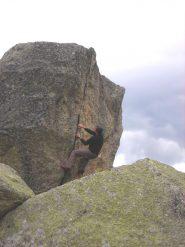 bouldering a Prà longis