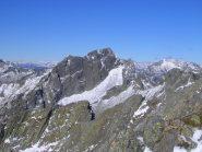 Il Monte Ledù visto dalla cima del Sasso Canale