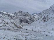 panorama dal colle sul lato Svizzero