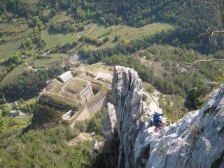 Fort des Salettes dai Torrioni sommitali