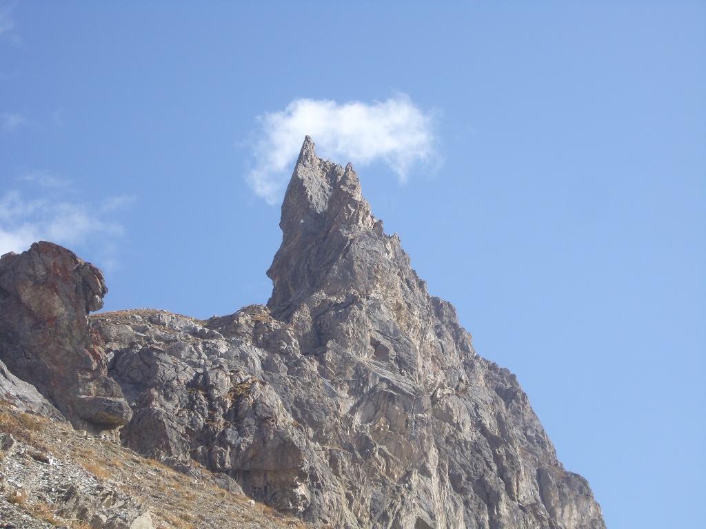 13 - la cresta ovest della Arete de la Bruyere